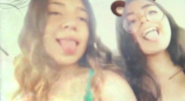 Manuela Seja, 14 (left), blames social media for a deadly car crash that killed 14-year-old Jacqueline Sanchez (right). The accident was livestreamed on Instagram. Seja said social media has taken over people's lives and is only going to become more prevalent.