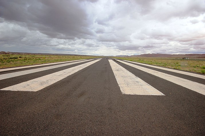 Tuba City Airport features one paved runway, it is one of the existing Navajo Nation primary airports currently in use and is owned and operated by the Navajo Nation. Photo courtesy of Navajo Airports
