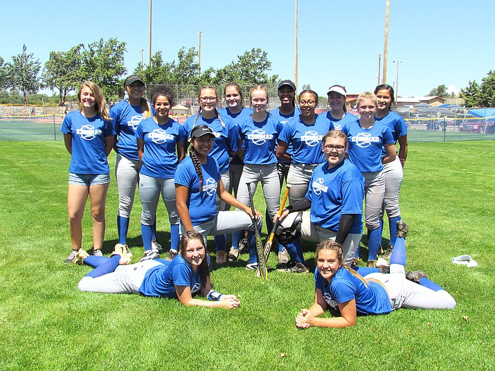 The Kingman Sidewinders 16U softball team went 4-1 to take third at the Prescott Best of the West Tournament.