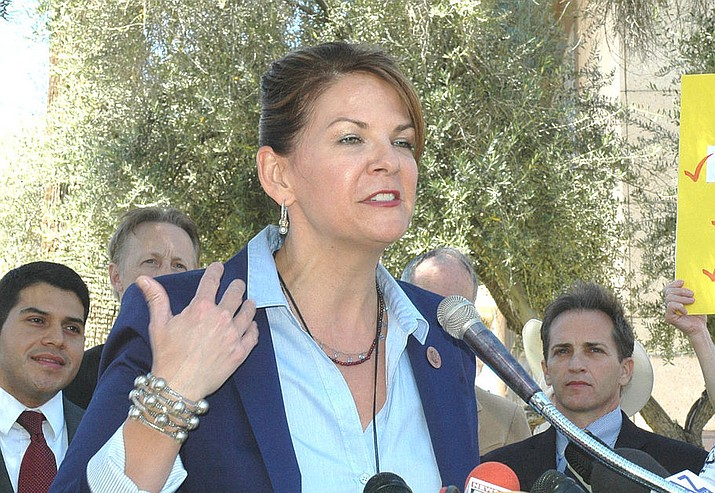 Former State Sen. Kelli Ward (R-Lake Havasu City) showed this past week that she lacks that good judgment with how she handled the news that Sen. John McCain has cancer and a tumor in his brain. (File photo, Howard Fischer Capitol Media Services)