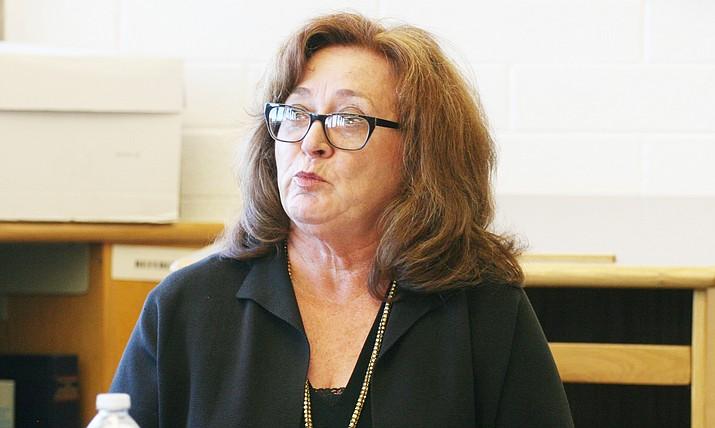 Mingus Union School Board President Anita Glazar