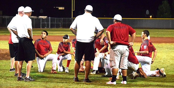 Verde Valley Little League finished in fourth place at the Arizona State Juniors All-Star tournament in Phoenix last week. Verde Valley  went 3-2, beating Winslow, Kingman North and Randolph.  (VVN/James Kelley)