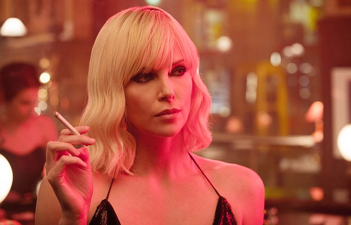 In Atomic Blonde, the crown jewel of Her Majesty's Secret Intelligence Service, Agent Lorraine Broughton (Charlize Theron) is equal parts spycraft, sensuality and savagery, willing to deploy any of her skills to stay alive on her impossible mission.