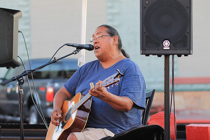 Navajo/Ute musician Aaron White was nominated in 2003 for a Grammy after touring throughout Europe and the U.S. White plays a variety of music for audiences of all cultures and ages. Wendy Howell/NHO
