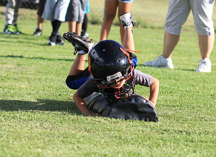 Williams Youth Football program began preseason practices this week.