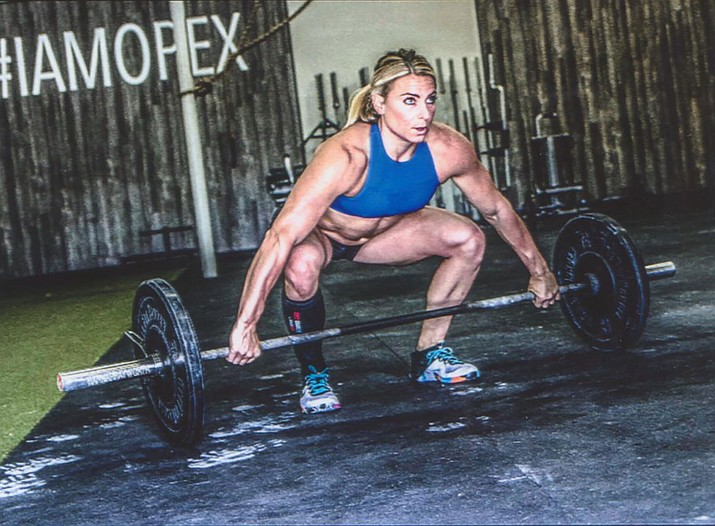 Kingman High School graduate Tennil Reed will compete in the CrossFit Games, which start Thursday at the Alliant Energy Center in Madison, Wisconsin.