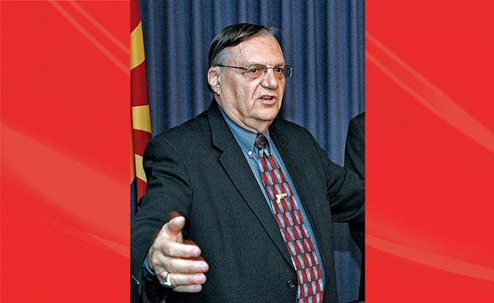 Joe Arpaio/Howard Fischer File Photo