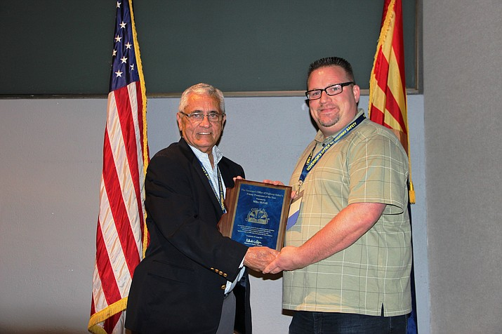 From left: Director Alberto Gutier from the Governor's Office of Highway Safety and Mike McGill, Deputy County Attorney.