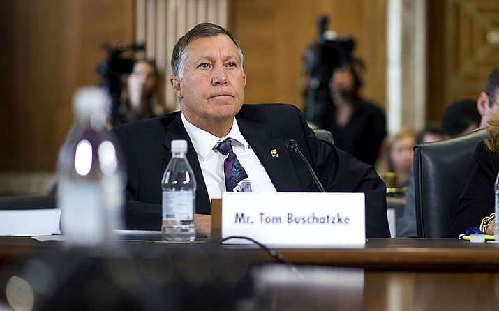 Tom Buschatzke, director of the Arizona Department of Water Resources, told a Senate panel that years of continued drought in the West have left the region still in danger of a water emergency.