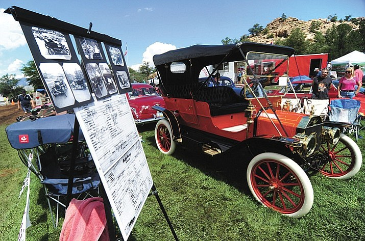 This 1910 Ford was a hit among the hundreds of cars, trucks, and parts vendors at last year's Prescott Antique Auto Club show at Watson Lake Park. The show runs Saturday and Sunday, Aug. 5-6, from 7 a.m. to 3 p.m.