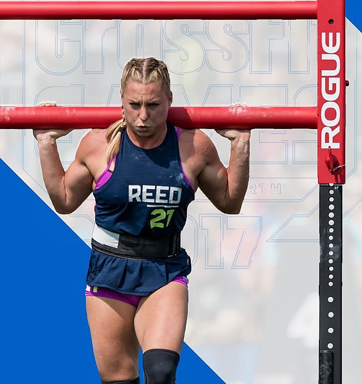 Kingman High graduate Tennil Reed was in fifth place after nine events at the CrossFit Games. The Games conclude today.