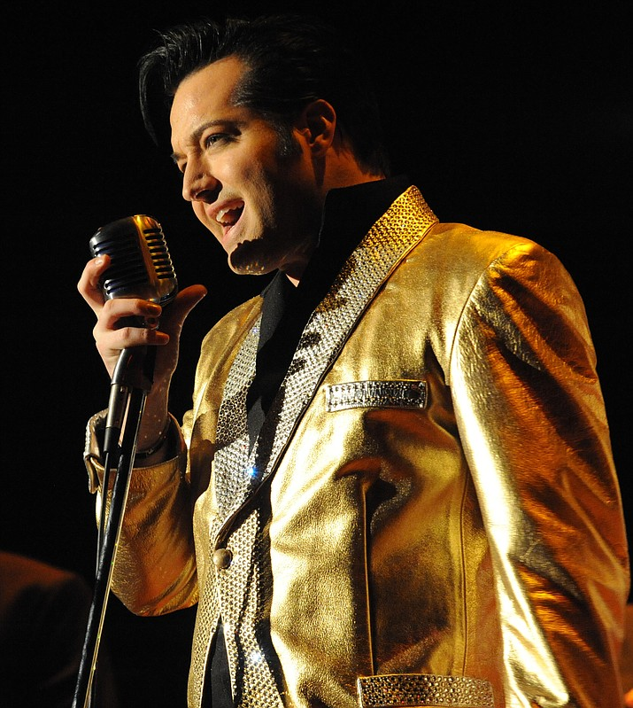"Robert Shaw returns to the Elks Theatre & Performing Arts Center as the late Elvis Presley in ""Heartbreak Hotel"" on Friday, Aug. 18."
