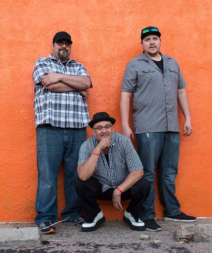 The Rivals, from left, David Diaz, Cardo Diaz and Robert Diaz, will play their rock and ska style of music at the free Sounds of Kingman concert at 5 p.m. Sunday at Metcalfe Park.
