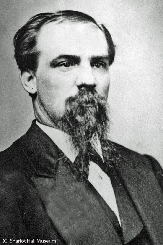 Daniel Hatz, pioneering Prescott businessman and winemaker. (Courtesy Sharlot Hall Museum, call number PO-1423Pb).