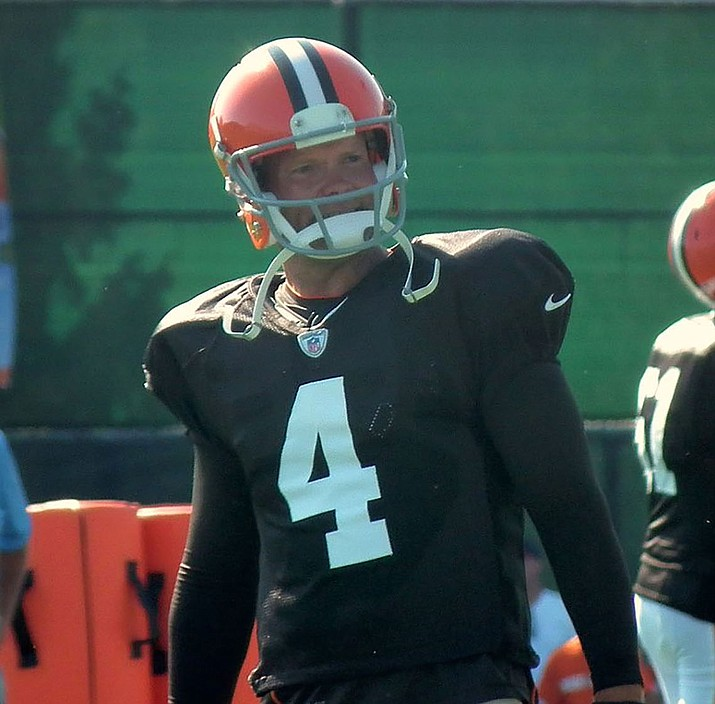 Phil Dawson is the new kicker for the Arizona Cardinals after 14 seasons with the Cleveland Browns and the last four with the San Francisco 49ers.
