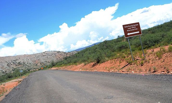 Yavapai County has received a proposal to permanently store the soil from the United Verde Soil Program off Sycamore Canyon Road near the Verde River. VVN/Vyto Starinskas
