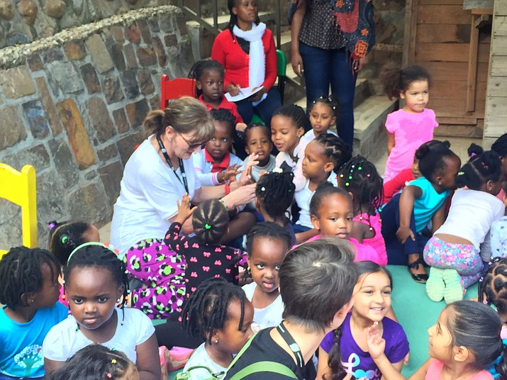Pat Tardiff, Northwest Arizona area coordinator for Operation Christmas Child, went to Rwanda this summer to personally deliver about 7,000 shoeboxes filled with gifts to children in need. She said it was the most rewarding experience of her life to see them light up with smiles over simple gifts like a bar of soap, a scarf or sunglasses.