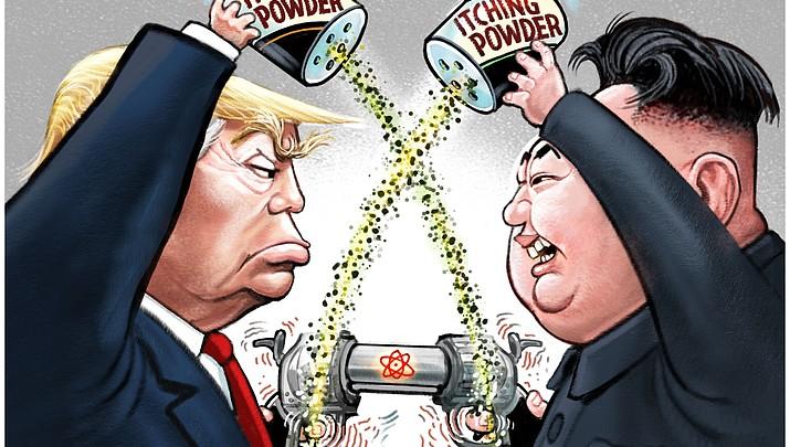 Editorial Cartoon (a) Aug. 16, 2017
