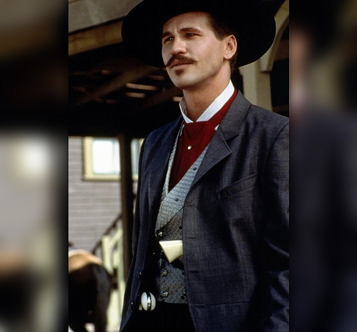 "Val Kilmer as Doc Holliday in the 1993 movie, ""Tombstone.' (Hollywood Pictures)"