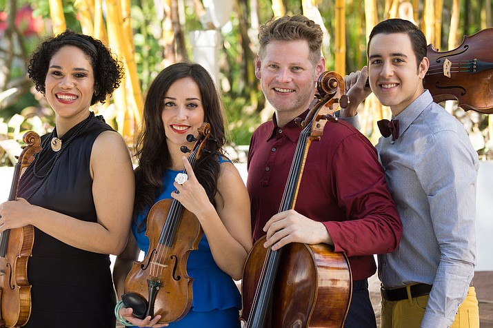A longtime festival favorite, the Catalyst String Quartet will open the 34th annual Grand Canyon Music Festival Aug. 25.