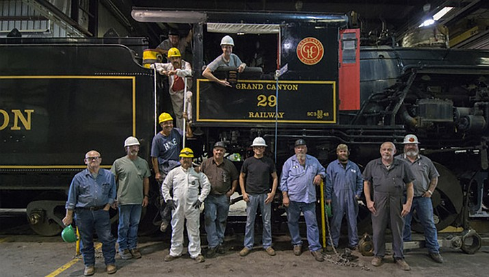 Grand Canyon Railway receives culture and preservation award