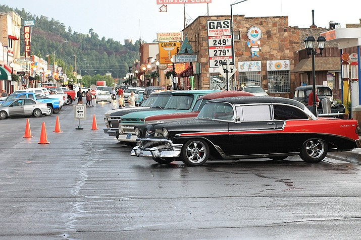 Cool Country Cruise-in rolled into Williams Aug. 11-13.