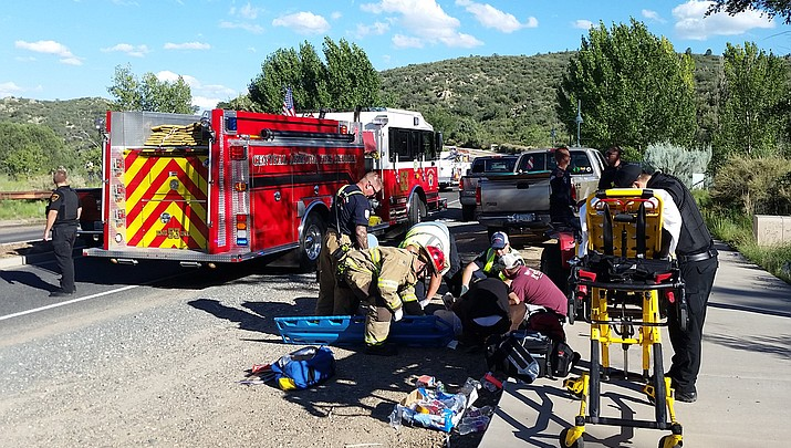 Woman airlifted after quad crash in Prescott Valley