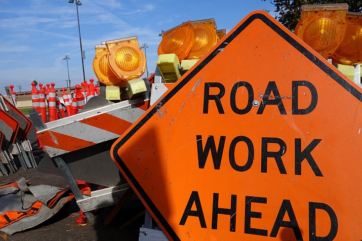 Road work on eastbound I-40 is expected to last through the fall.