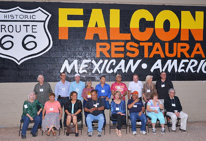 The Winslow High School class of 1964 reunion was held at the Falcon Restaurant Aug. 10 and 11.