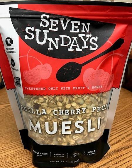 Seven Sundays Vanilla Cherry Pecan Muesli