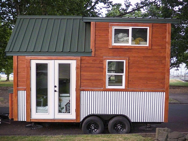 Sam Koekkoek S Plans To Take His Tiny House Up Seattle Wa Where