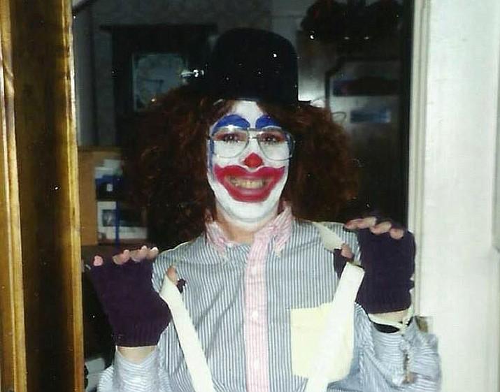 Linda Varon in Goodwill Halloween costume