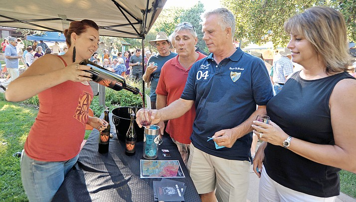 Tickets going fast for Sharlot's Wine Fest