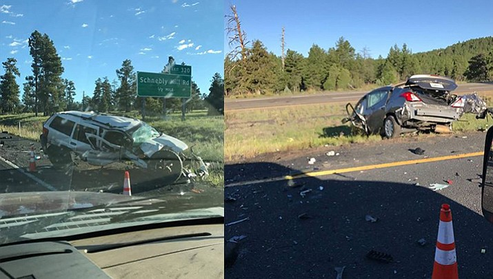 4 killed, 1 injured in I-17 crash