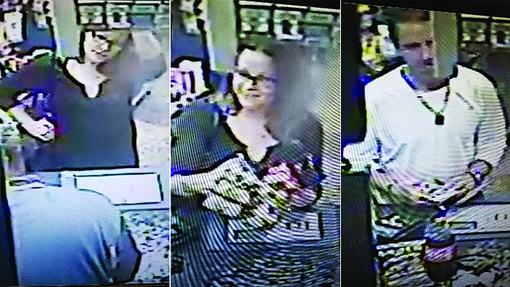 Police are looking for suspects involved in using counterfeit money. The suspects are described as a white male and female.