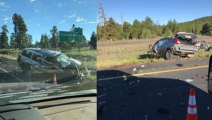4 killed, 1 injured in I-17 crash