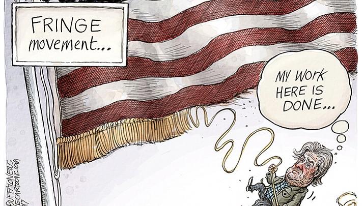 Editorial cartoon (1): August 20, 2017