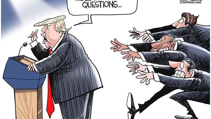 Editorial cartoon (2): August 20, 2017