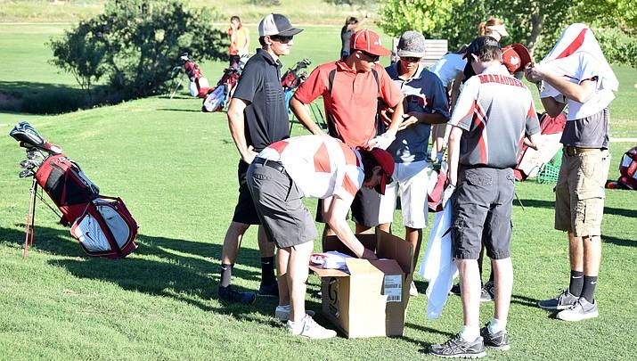 Mingus Union gentlemen's golf team in it to win it