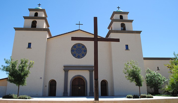 Monday, the Cottonwood Planning and Zoning Commission will consider the conditional use permit and design review requested by the Immaculate Conception Catholic Church to allow the construction of a new senior housing complex, a rectory for priests, a new social hall, and new parish offices. (VVN/Jennifer Volpe)