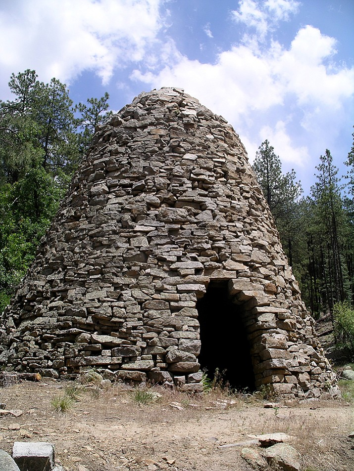 The Charcoal Kiln dates back to the 1880s, and is located off Big Bug Mesa Road, near Walker. (Nigel Reynolds/Courtesy)