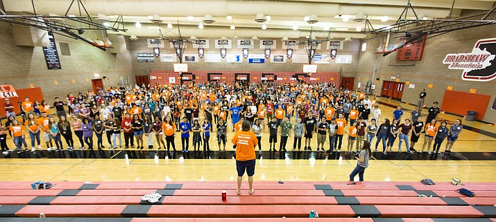 BMHS LINK Crew activities help incoming freshmen make a successful transition to high school. (HUSD/Courtesy)