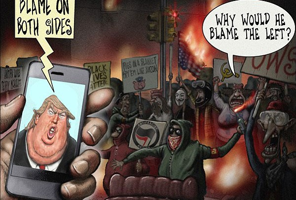 Editorial Cartoon | August 21, 2017