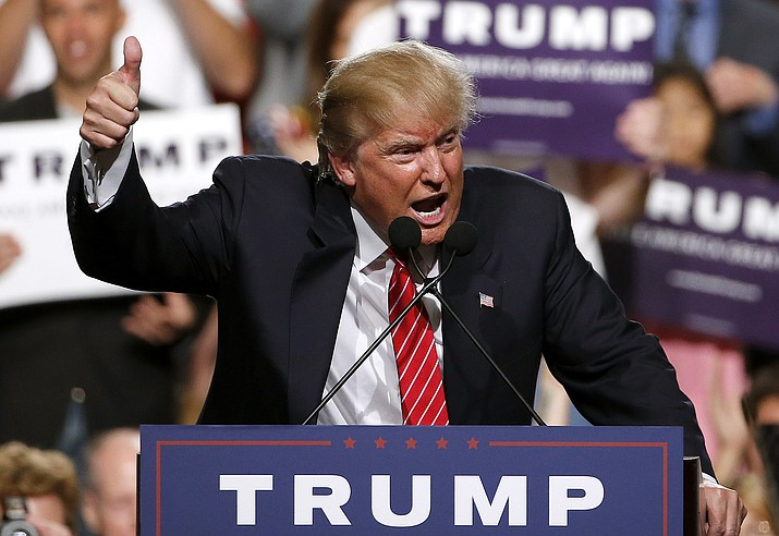 President Donald Trump returns to Phoenix today for a rally. (Ross D. Franklin/AP, File)