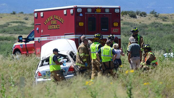 Two-vehicle crash on 89A between Cottonwood and Sedona