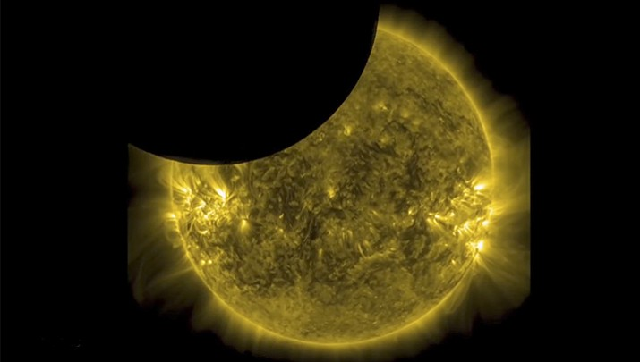 A solar eclipse on Monday, Aug. 21, 2017, is set to star in several special broadcasts on TV and online. PBS, ABC, NBC, NASA Television and the Science Channel are among the outlets planning extended coverage of the first solar eclipse visible across the United States in 99 years. (March 2016 NASA File photo)