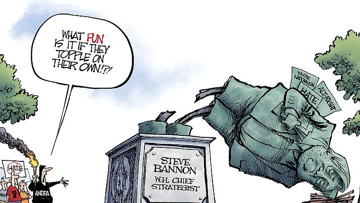 Editorial Cartoon: August 22, 2017