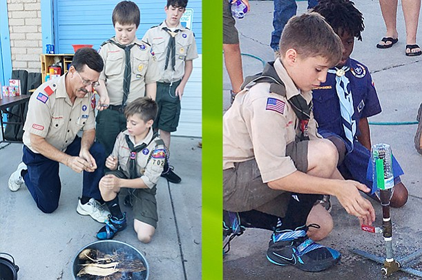 Cub Scouts, Boy Scouts recruit in Verde Valley