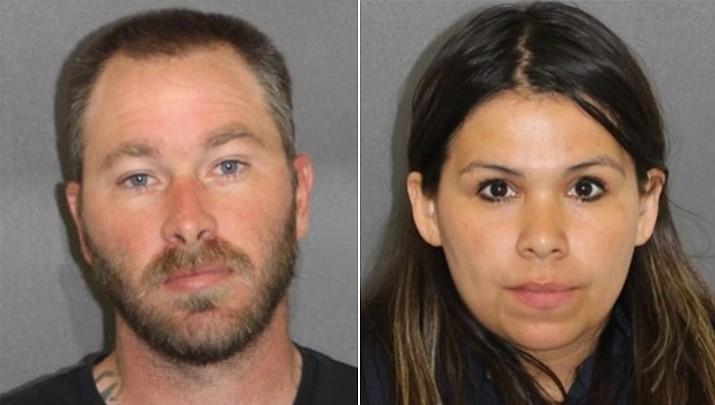 Robert Thomas Didomizio, 36, and Diana Moreno Didomizio, 38, both of Kingman.
