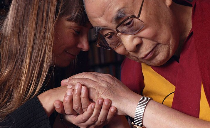 """The Last Dalai Lama?"" finds His Holiness, full of compassion, humor, and even anger in his ninth decade. The film grants viewers intimate access to the Dalai Lama and those who have been touched by his vast influence. (Courtesy)"